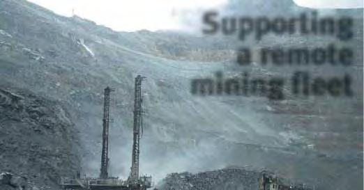 Supporting a remote mining fleet - PDF