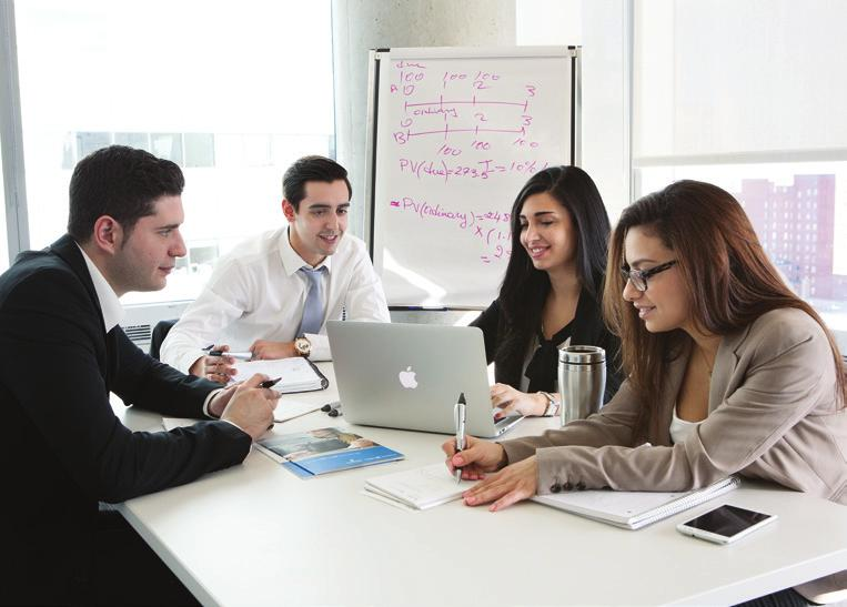 The John Molson MBA in Investment Management with complete