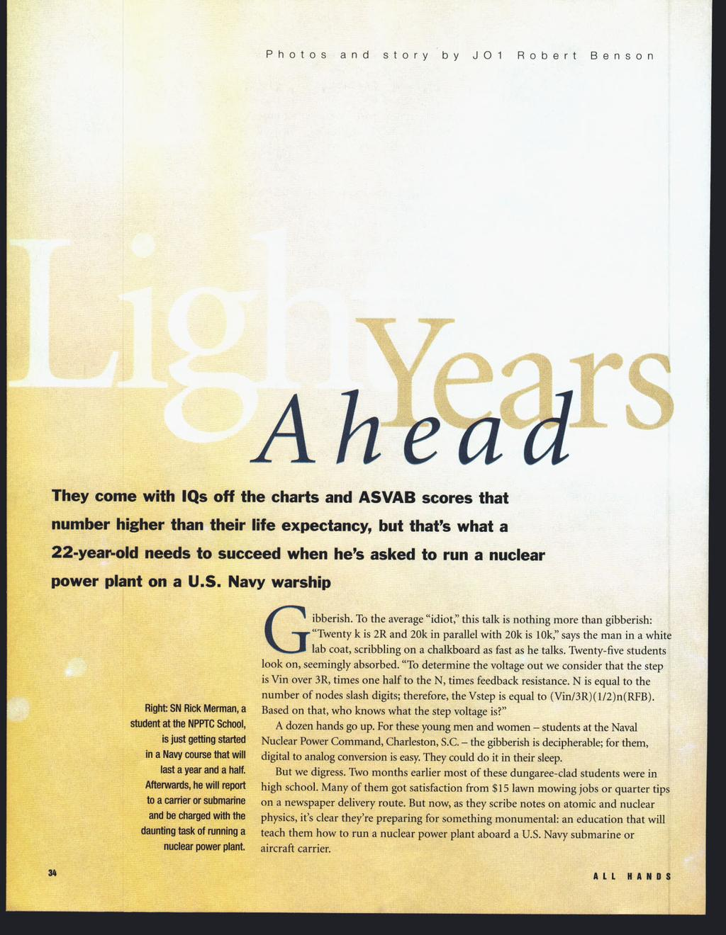 Features  3 4 Light Years Ahead - PDF