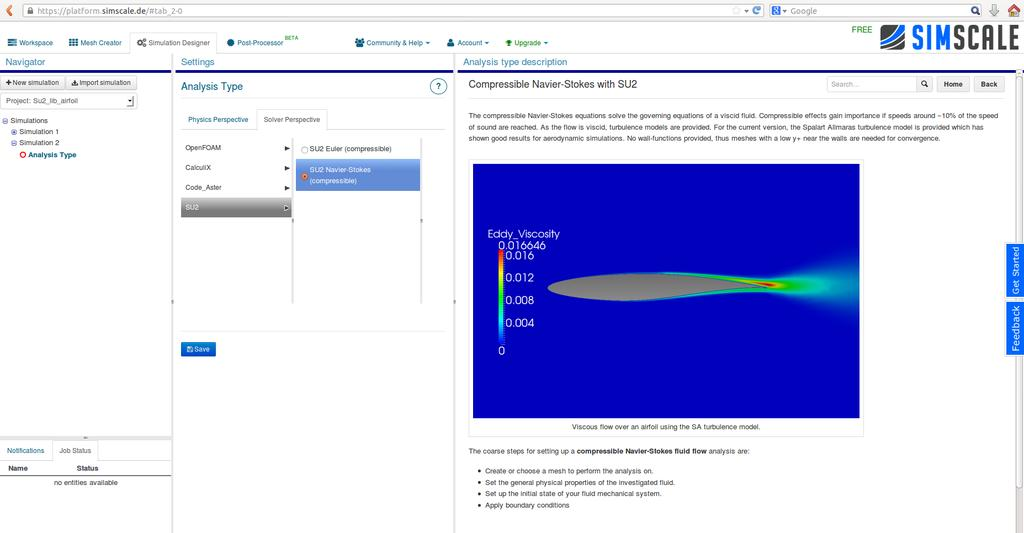Benchmark and validation of Open Source CFD codes, with
