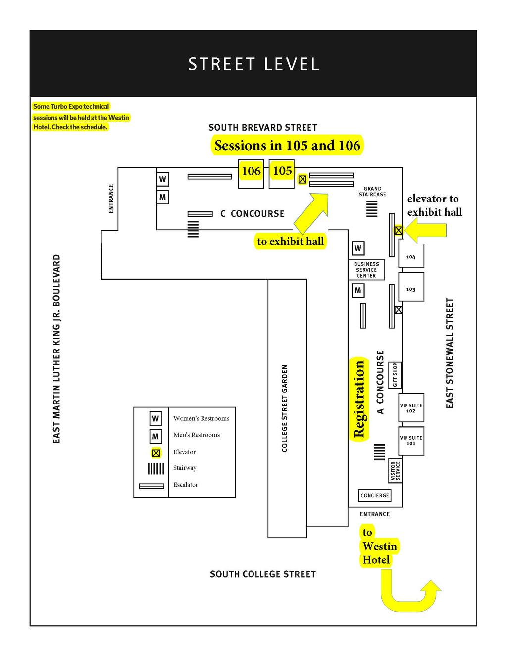 Final Program American Society Of Mechanical Engineers Asme Wilo Mhi 203e Pompa Air Multistage Stainless Steel Convention Center Map 44 2017