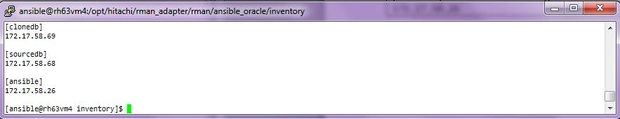 Hitachi Storage Adapter for Oracle Recovery Manager User s