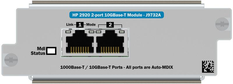 HP 2920 Switches  Installation and Getting Started Guide