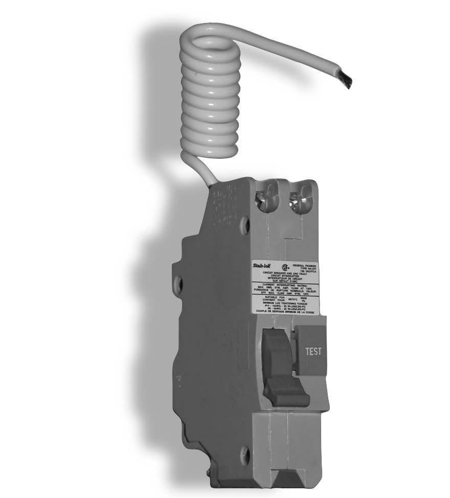 Loadcentres And Circuit Breakers Pdf Breaker Besides Arc Fault Wiring Diagram On Reduce The Risk Of Fire With Installation Federal Pioneer Interrupters