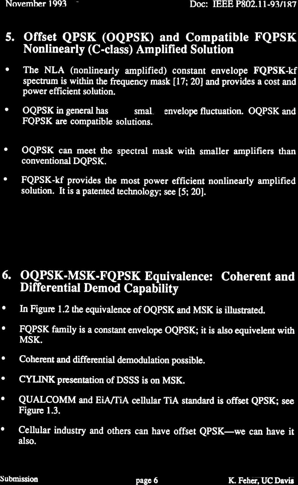 OQPSK ModemlRadio for the Adopted DS-SS Modulation Standard - PDF