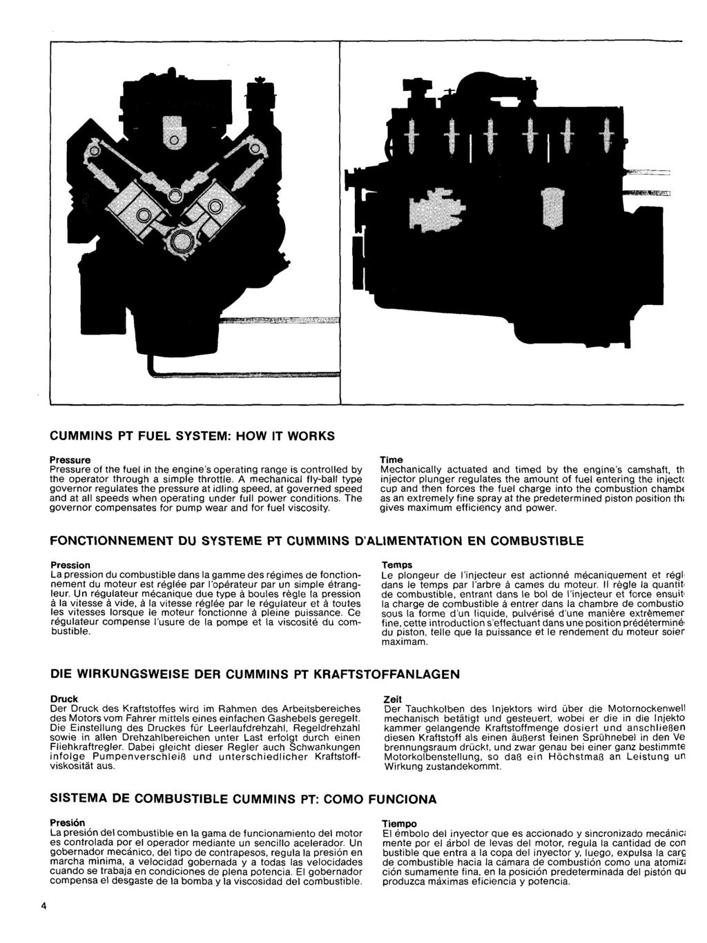 THE M '^NUFACTURE OF DIESEL ENGINES  presented ly  CuEimins