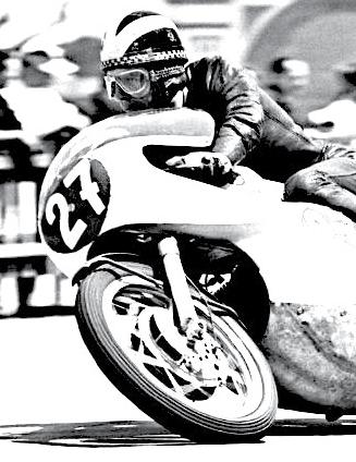 in the news from the american historic racing motorcycle Painting of a Ducati racing