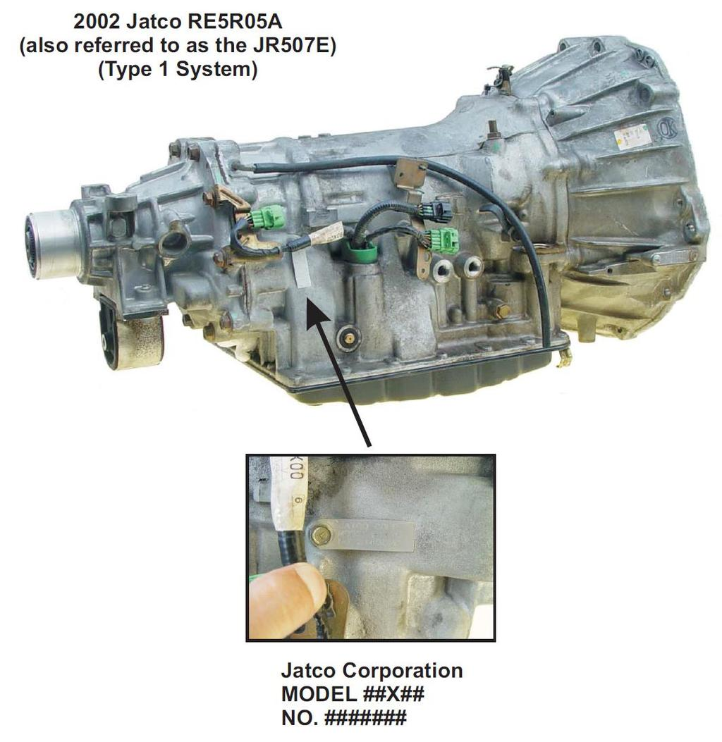 Re5ro5a Presented By Mike Souza Atra Senior Research Technician It Was An Hydraulically Controlled Rear Wheel Drive Transmission Introduction Starting In Mid 2002 Jatco Introduced The Re5r05a 5 Speed
