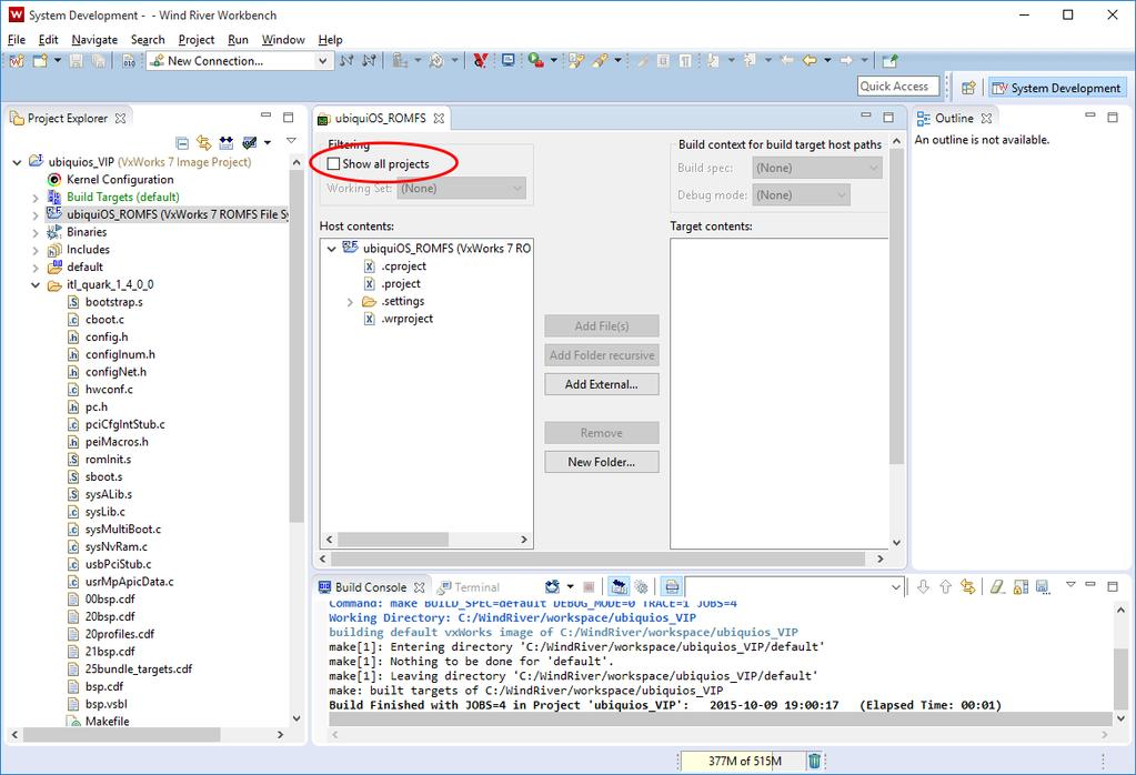 Getting Started Guide for Wind River VxWorks 7 on Intel Galileo Gen