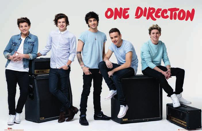 Poster Brand New One Direction Lp1554
