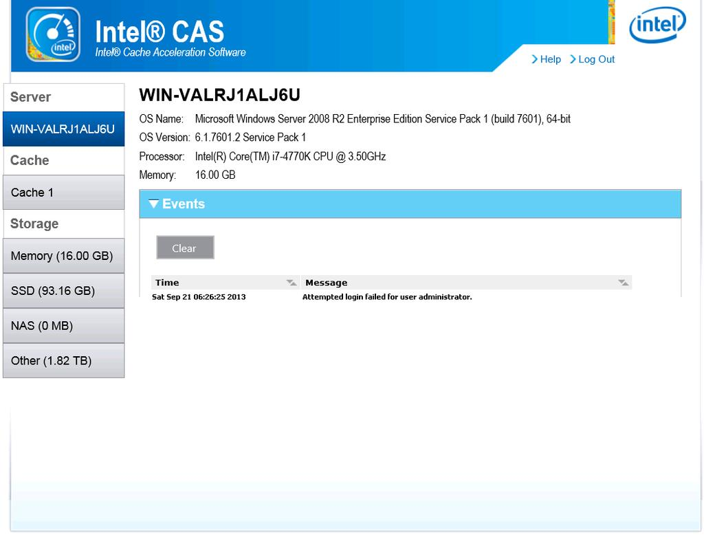 Intel Cache Acceleration Software (Intel CAS) Version for Windows* - PDF