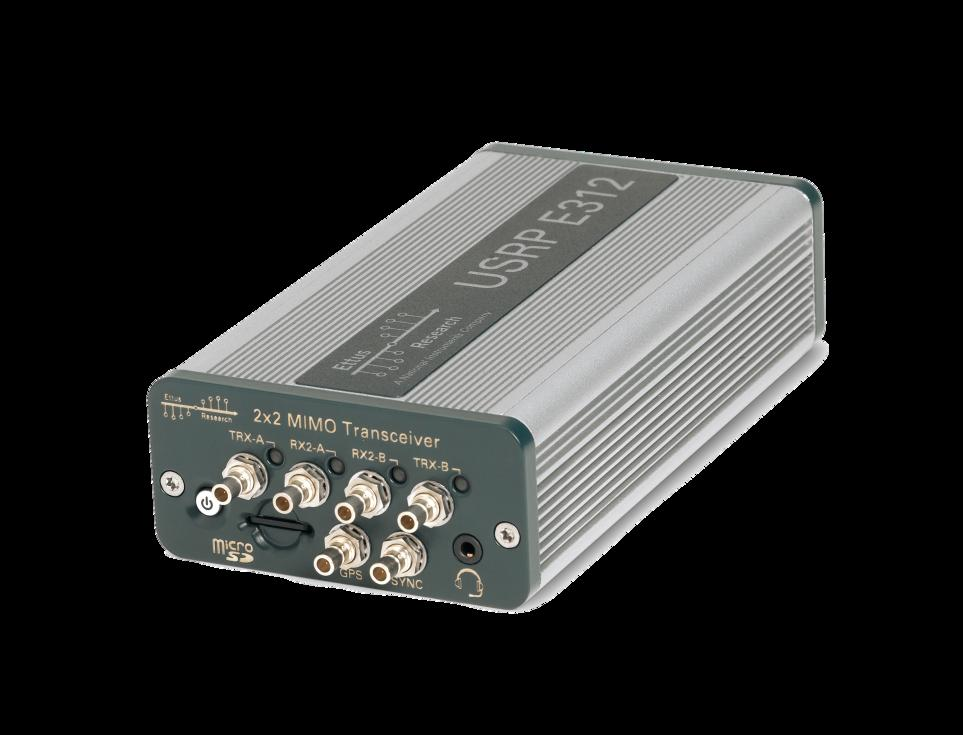 Getting Started with the Ettus Research USRP E312 SDR - PDF