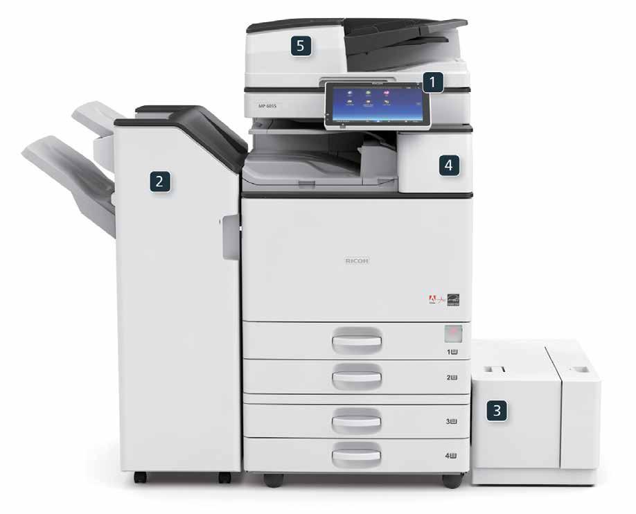 Ricoh Aficio MP W5100 PostScript3 Drivers for Windows Mac