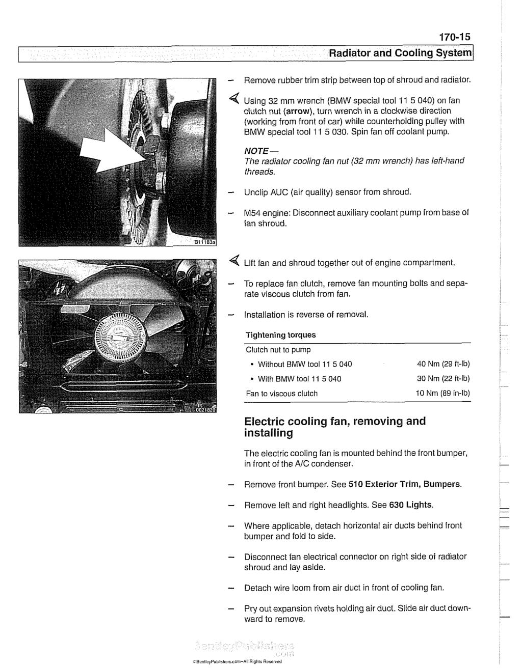 I Radiator and Cooling System - PDF