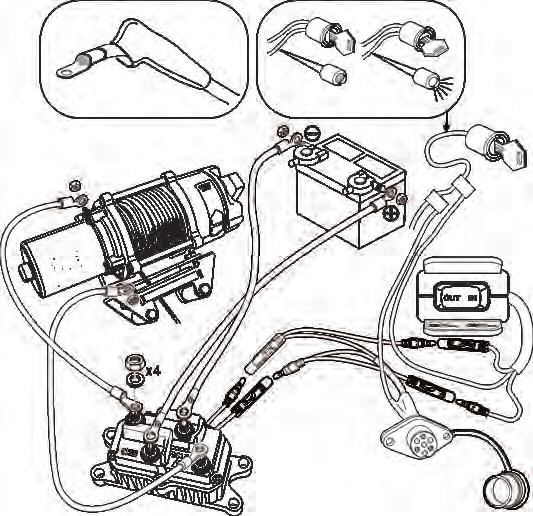 Installation Instructions Winch Mounting Kit Part Number