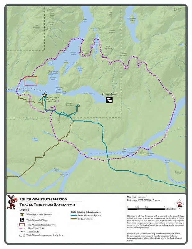 Tsleil-Waututh Nation s History, Culture and Aboriginal Interests in Eastern Burrard Inlet (