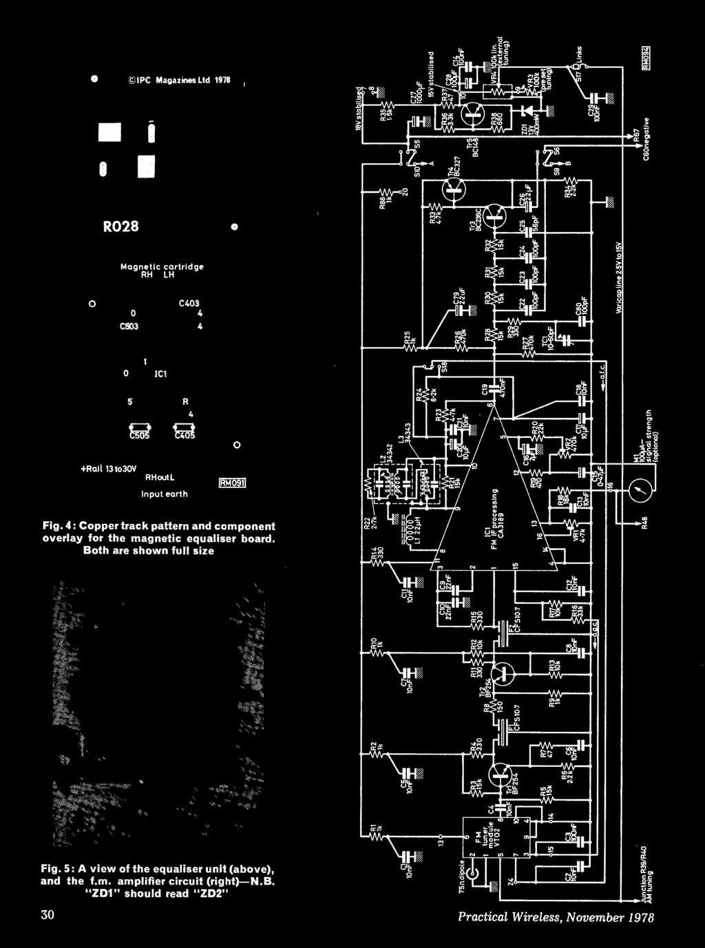 Australia 85c New Zealand South Africa 80c Malaysia 2 Pdf Download Image Bc549c Condenser Microphone Pre Amplifier Schematics Pc 4 Copper Track Pattern And Component Overlay For The Magnetic