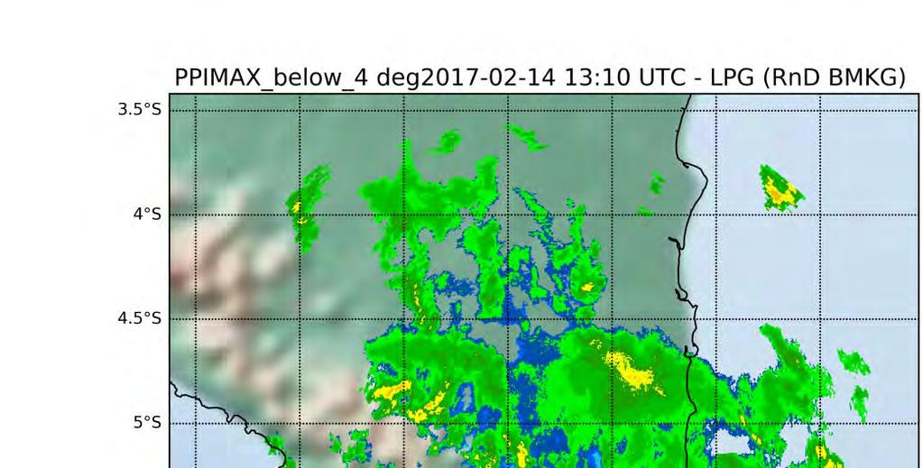 CURRENT STATUS OF BMKG s WEATHER RADAR DATA QUALITY CONTROL and IN