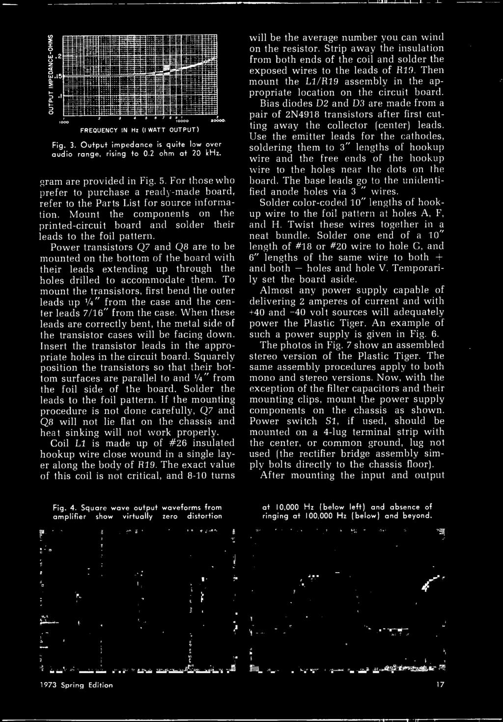 Handbook Experimenters 1973 Electronic Decoder Build The Cbs Ee Programmable Integrated Circuitcard Music Circuitintegrated Circuits For Those Who Prefer To Purchase A Ready Made Board Refer Parts