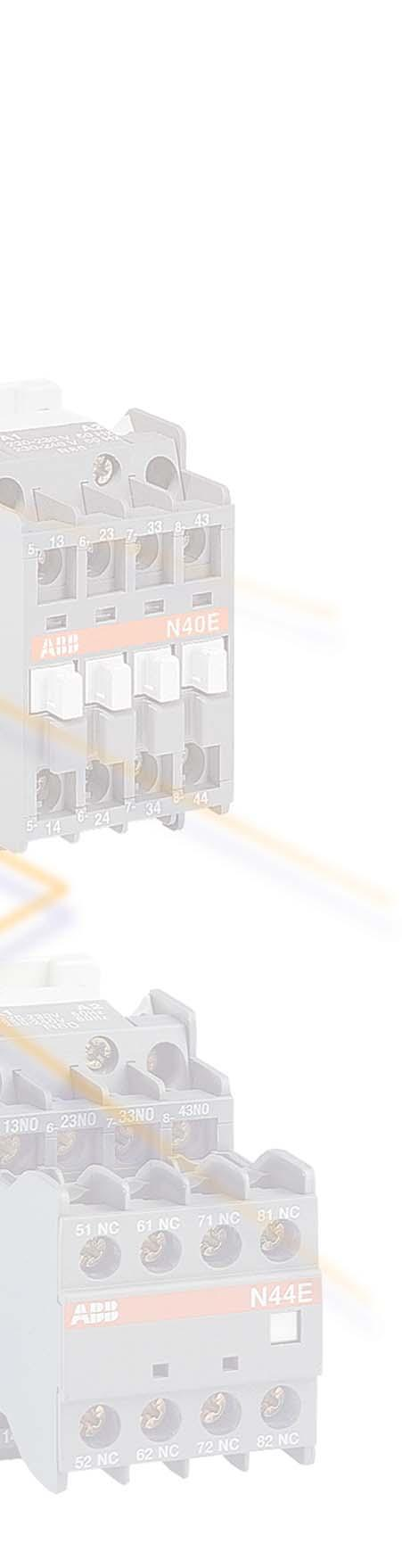 Main Catalogue Contactors Motor Protection Accessories Pdf Controlling Astardelta Contactor Relays Contents Panorama N Ac Operated