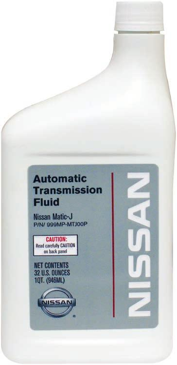 Genuine Nissan and Infiniti Automotive  Chemicals Guide
