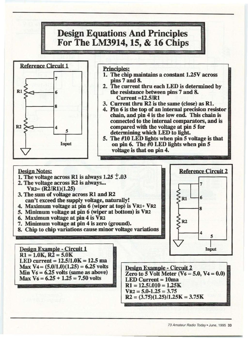 The 73 De N4uru Station Reset H B R Pdf Lm3914 12v Battery Monitor Circuit Hqewnet Design Equations And Principles For 15 16 Chips