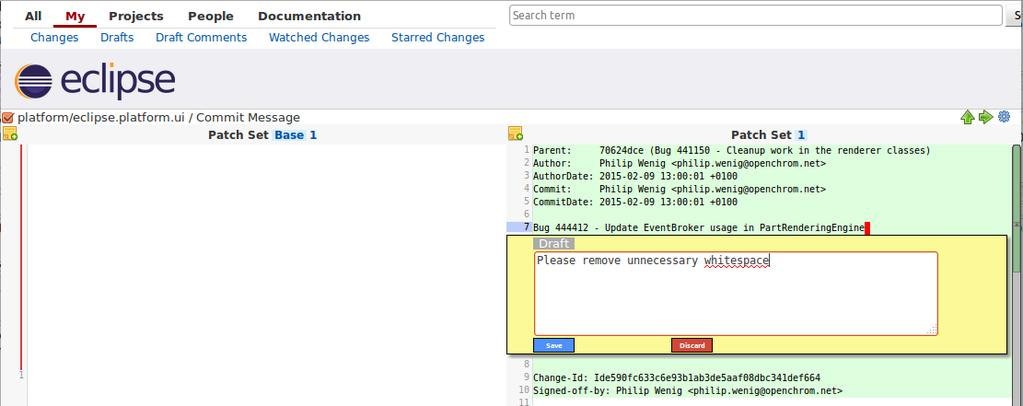 Contributing to the Eclipse IDE Project  Principles, Plug