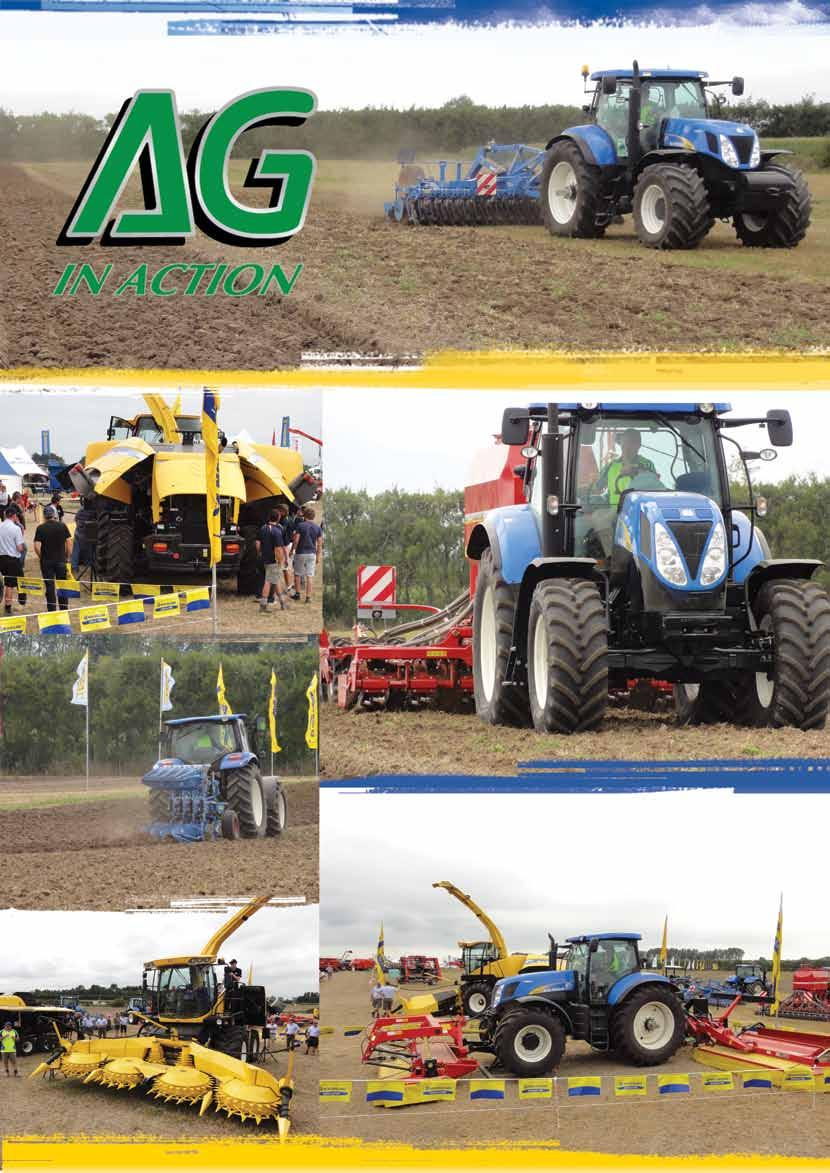 NEW HOLLAND CLUB NEWSLETTER  Autumn Wins Golden Tractor for Design