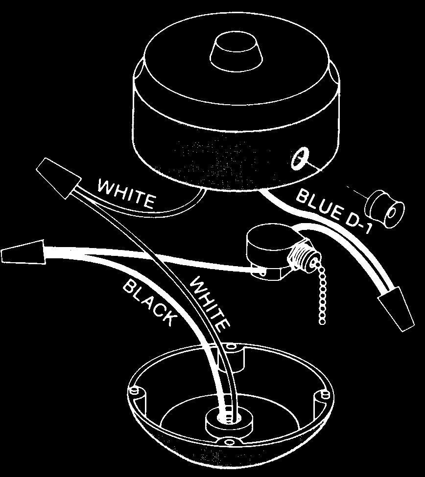 Contents Safety First Pdf Light Fixture Wiring 2 White Black Pull On Second Off Direction Of Blade Rotation Is Controlled