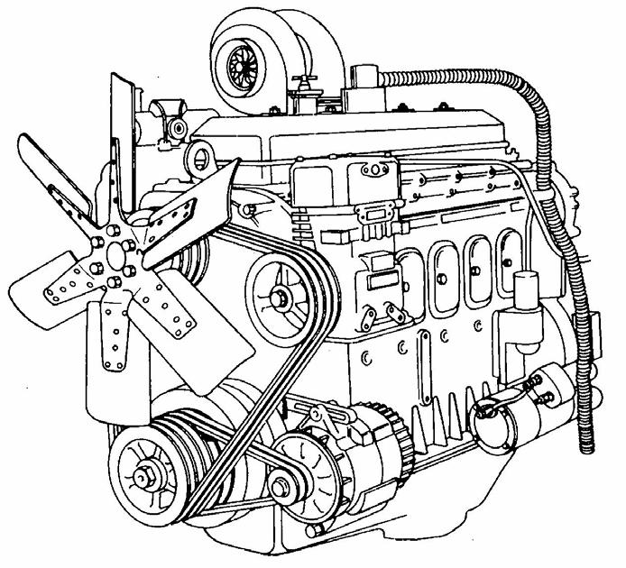 Detroit Diesel Two Cycle Engines