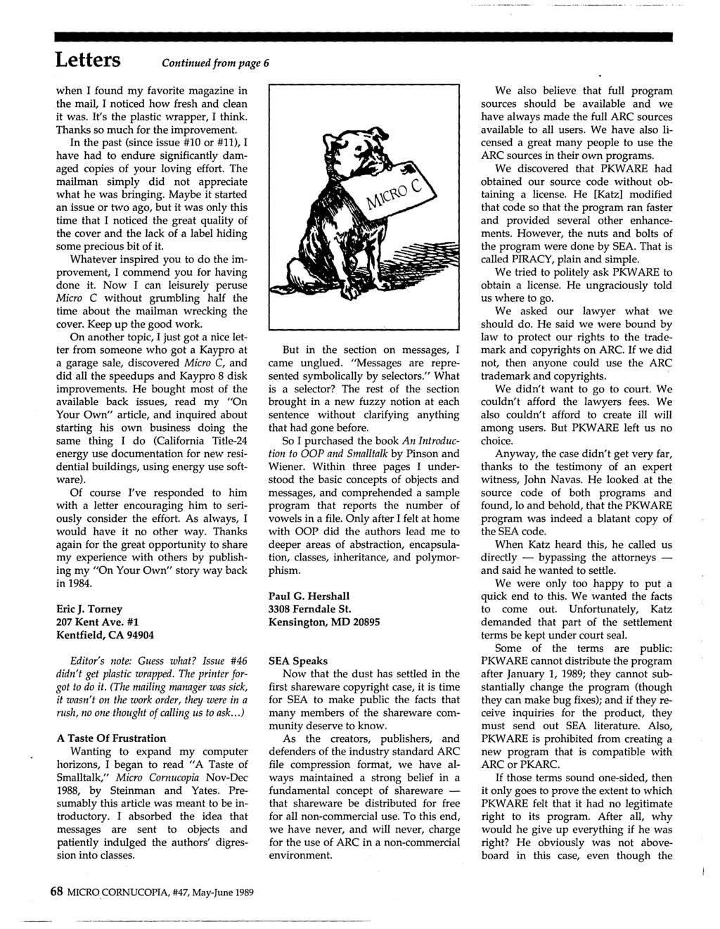 Robotics And More Writing Code For Two Operating Systems J 0 Urn Published November 7 2010 At 1536 X 2048 In Structured Wire Panel Letters Continued From Page 6 When I Found My Favorite Magazine The Mail