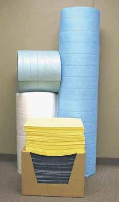 Universal United Sorbents B-GNM-SR150 Bonded Sorbent Medium Split Roll Green Pack of 2