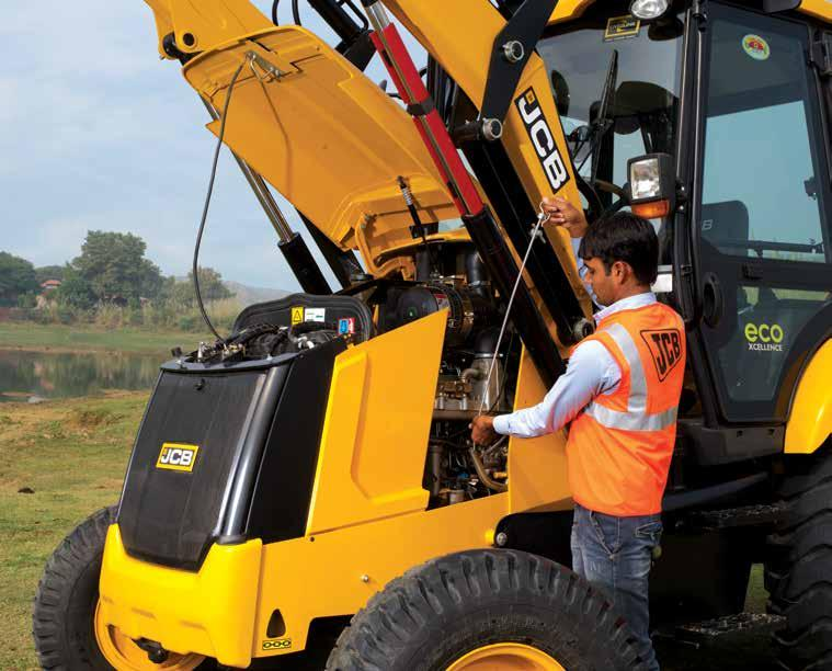 NEW 3DX / 3DX-XTRA  ecoxcellence Backhoe Loaders  Longlife