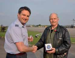 Farewell to VC10 Retirees OPERATIONAL 101 SQN Hugh Thomas, the Rear Crew Leader of 101 Sqn, leaves the RAF in August this year after 38 years 4 months and 4 days service (roughly).