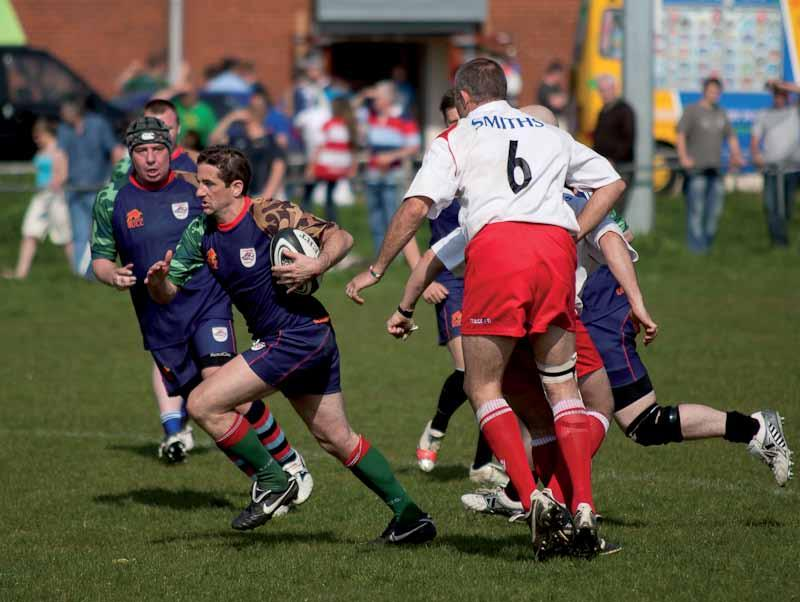 Supporters take on Legends in aid of Help For Heroes Rugby fans gathered at a local club ground in Gloucester to watch members of a popular rugby supporters forum Shedweb take on a side of former