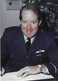 He knows the Station well after two postings here - the first as OC 216 Squadron (1983 to 1986) and the second as OC RAF Brize Norton (1990 to 1992).
