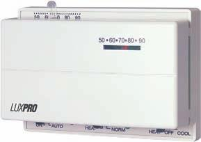 Luxpro Heating /& Cooling Mechanical Thermostat PSM40SA for sale online