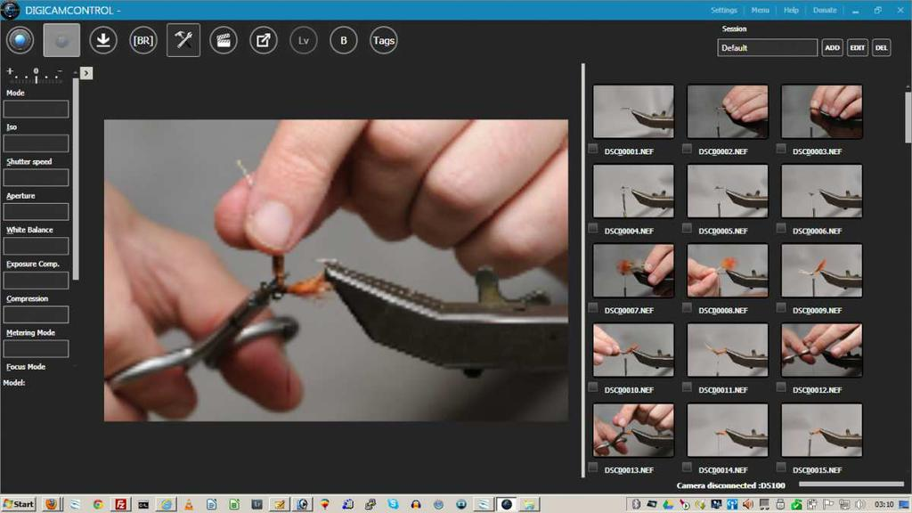 digicamcontrol supports most Nikon DSLR cameras as well as