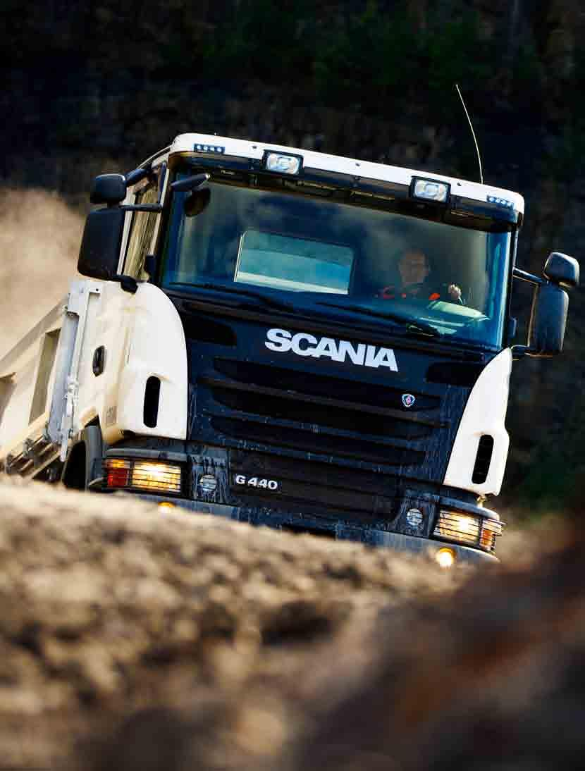 Scania off-road trucks  Introducing  Fit for hard work  Fit