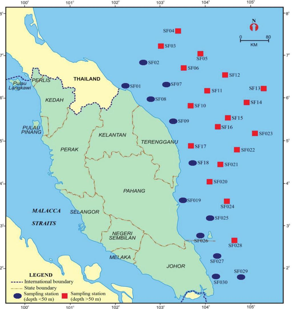 Journal Of Sciences Technology Pdf Sag Mill Diagram Together With Gear Spray Pada Ball Matematika Distribution Recent Ostracoda In Offshore Sediment The South China Sea Fig