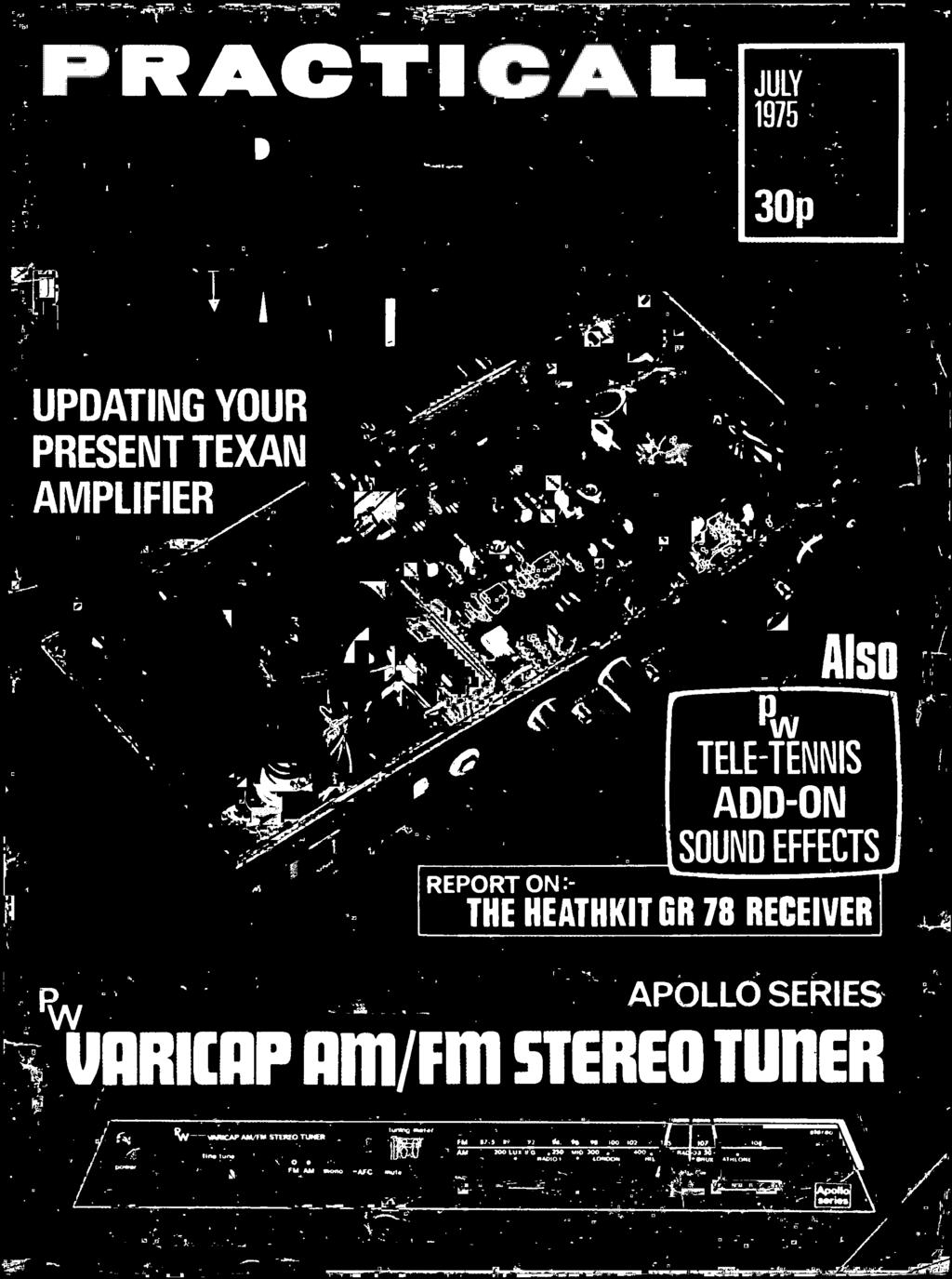 July P Updating Your Present Texan Amplifier Tele Tennis Add On Lm741 Simple Dc Can Be Added To Afc Circuit Of Fm Tuner Sound Effects Report