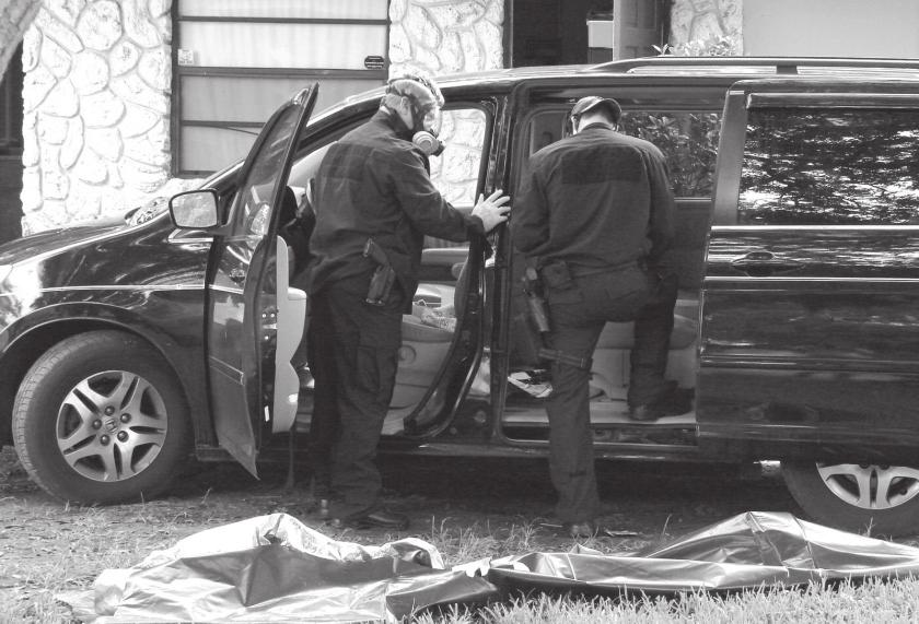 Meth lab busted  Local man dies in car accident  City