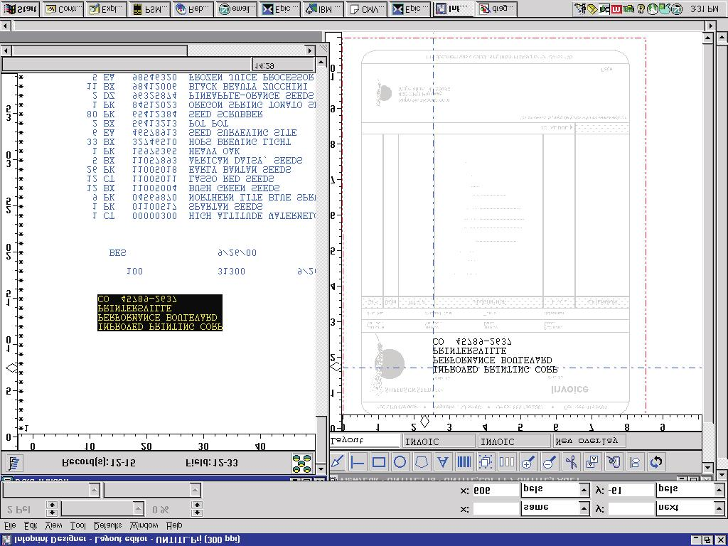 Iseries Guide To Output S Pdf 500 X 225 23 Kb Jpeg 4 Wire Trailer Wiring Diagram Boat Positioning Text In The View Edit Window Change Font For