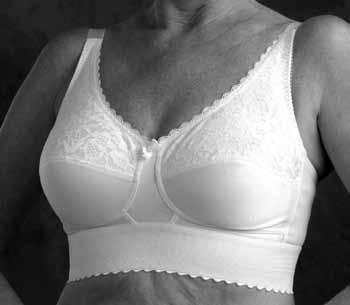 911f3d9b2 MASTECTOMY Prosthetic 453  510 Molded Cup Bra A full coverage molded cup  mastectomy bra that