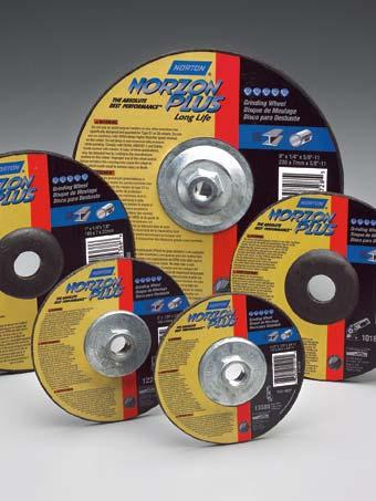 THE NORTON FULL LINE OF STOCK ABRASIVE PRODUCTS  - PDF