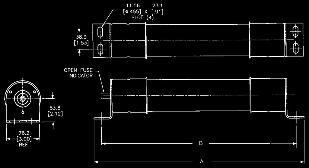 5// Pk GLR-2 Small Dimension Fast-Acting Non-Rejection Style Inline 2 Amp Fuse