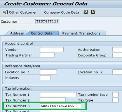 What Is Sap Code In Gst