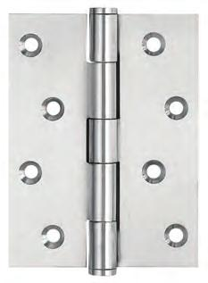Ball Bearing Door Hinges Solid Brass Chrome Plated 4 x 2-5//8 4BB
