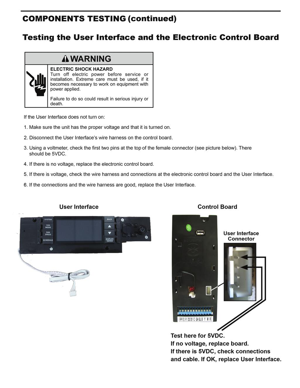 Room Air Conditioners Pdf Cool Cold Ice2 Cooling Pad 156 Inch If The User Interface Does Not Turn On 1
