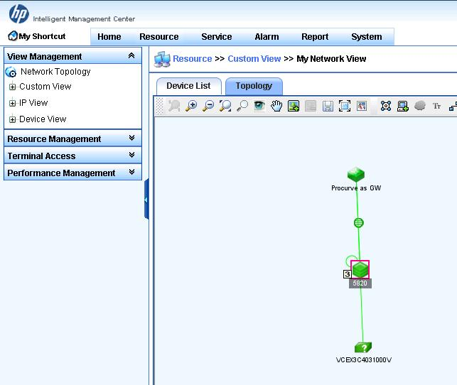 Virtual Connect and HP A-Series switches IRF Integration
